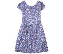 Dress »Feline Print Dress S/s« blau