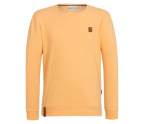 Sweatshirt 'Until the Pain Starts Iii' gelb