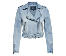 Kurze Jeansjacke 'Molly' blue denim