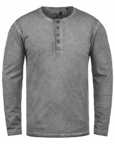 Rundhalsshirt Timur grau / graumeliert