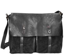 Castagno Messenger Leder 37 cm schwarz