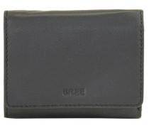 Liv 106 Geldbörse Leder 13 cm schwarz