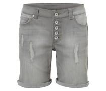 Boyfriend-Shorts grau
