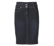 Bodyform-Jeansrock mit Bauch-weg-Funktion blue denim