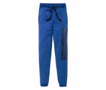 Sweathose blau