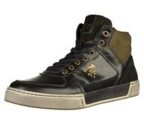 Sneaker creme / gold / grau / khaki / schwarz