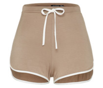 Shorts 'Ada' cappuccino / weiß