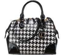 Handtasche grau / schwarz