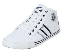 Hohe Sneaker weiß