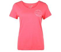 T-Shirt 'travel' pink
