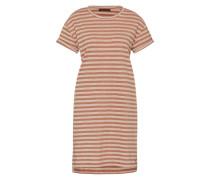 Sommerkleid 'Yelle' rosé / rostrot