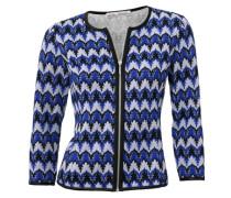 Bodyform-Shirtjacke blau