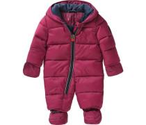 Baby Schneeanzug für Mädchen rot