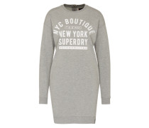 Sweater Kleid 'Soho' grau