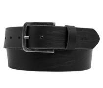 Derber Gürtel aus Leder schwarz