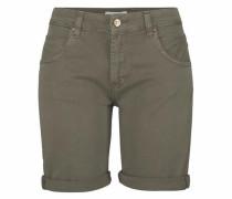Jeans-Shorts 'Jenny' oliv