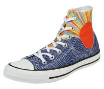 Sneaker 'Chuck Taylor All Star Hi' blau / mischfarben
