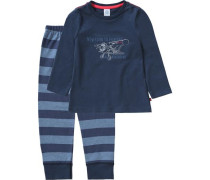 Schlafanzug für Jungen blau / navy