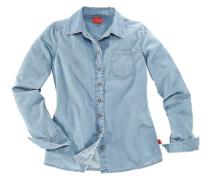Jeansbluse für Mädchen blau