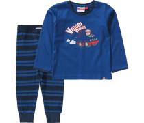 Baby Schlafanzug NIS für Jungen blau