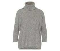 Pullover aus reiner Schurwolle grau