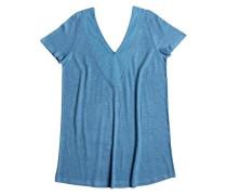 T-Shirt-Kleid 'Dust In The Wind' blau