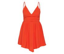 Sommerkleid orange / rot