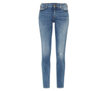 'pyper' Slimfit Jeans blue denim