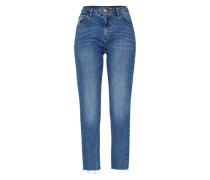 'Nmliv' Boot Cut Jeans blau