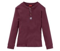 Langarmshirt für Jungen rot