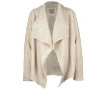 Sweatjacke 'jacket Sherpa' beige