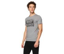 BOSS ORANGE T-Shirt 'Tamplin 1' grau meliert
