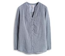 Bluse 'chambray' blau