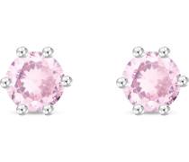 Ohrstecker rosa / silber