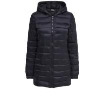 Mantel Gesteppter Nylon- schwarz