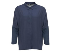 Cleane Bluse 'Fonky' nachtblau