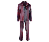 Langarm Pyjama ' Block Stripes '