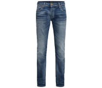 'Tim' Slim Fit Jeans blau