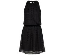 Neckholder Kleid ohne Ärmel schwarz