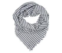 Schal 'Stripe Scarf' blau / weiß