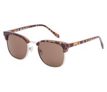 Trendige Sonnenbrille braun