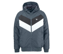 Outdoorjacke blau