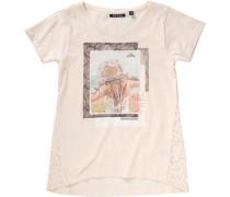 T-Shirt für Mädchen braun / orange / apricot