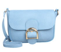 Umhängetasche im Leder-Look 'pcluna' hellblau