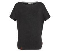 T-Shirt 'Die Gedudelte Iii' schwarzmeliert