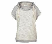 Kapuzensweatshirt beigemeliert / graumeliert