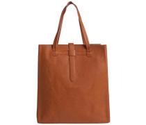 Shopper-Tasche braun / cognac