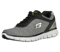 Sneaker grau / schwarz / silber