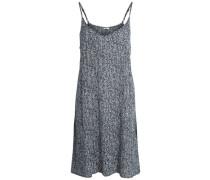 Bedrucktes Kleid schwarz / weiß