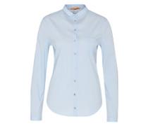 Bluse im Streifen-Design 'Egli' hellblau